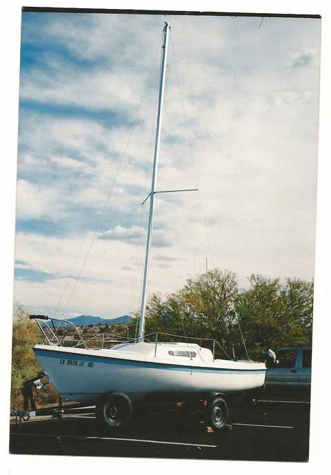 Macgregor 21, 1980 sailboat