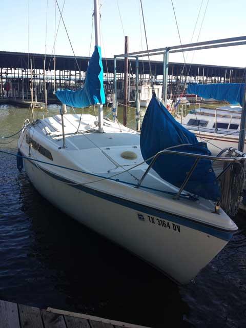 MacGregor 26D, 1988 sailboat