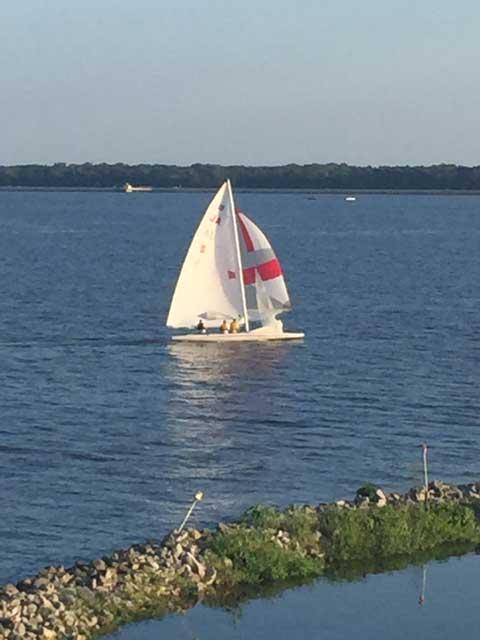 Melges E-Scow, 1985 sailboat
