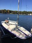 1996 Melges MC Scow sailboat