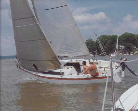 Merit 25, 1985 sailboat
