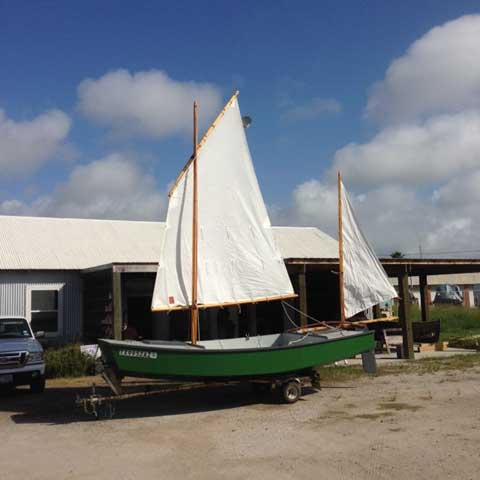 Cat Yawl, Michalak designed, 17ft., 2009 sailboat