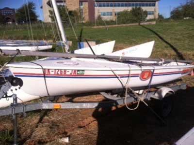 Mistral 4.04, 1984 sailboat