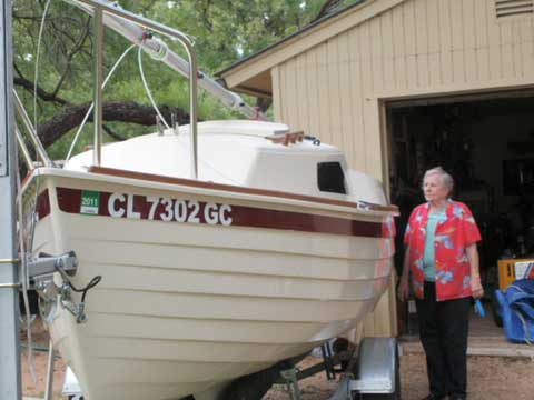 Montgomery 15, 2011 sailboat
