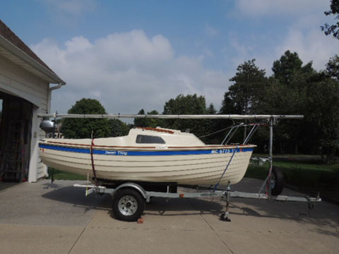 Montgomery 15, 2014 sailboat