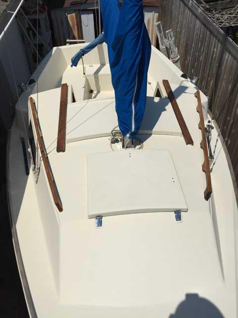 Montgomery 17, 1981 sailboat