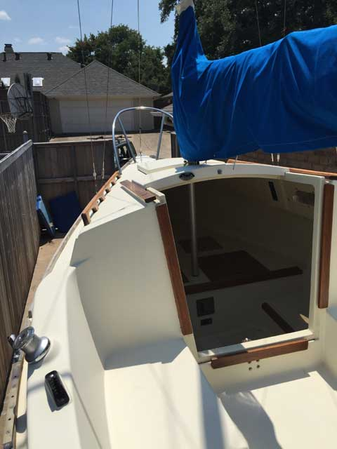 Montgomery 17 1981 Dallas Texas Sailboat For Sale From