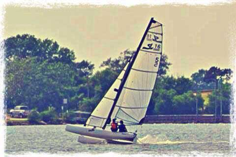 Nacra SL 16, 2007 sailboat