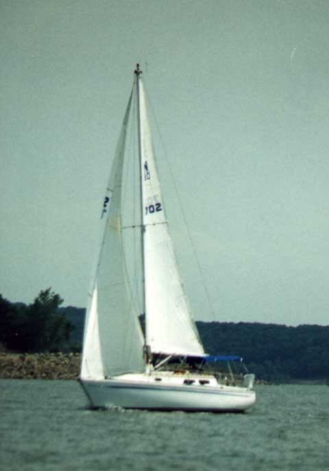 Newport 30 MkII, 1976 sailboat