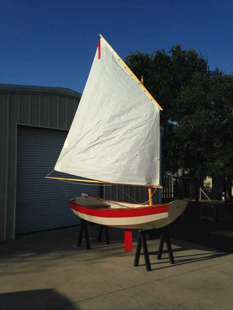 Nutshell Pram. 2012 sailboat
