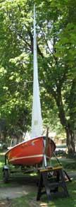 O'Day Widgeon sailboat