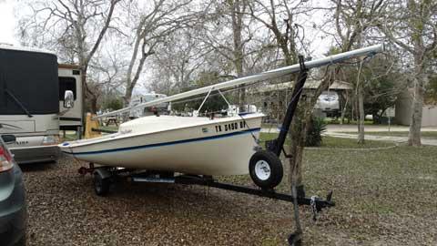 O'Day Day Sailer II, 1982 sailboat