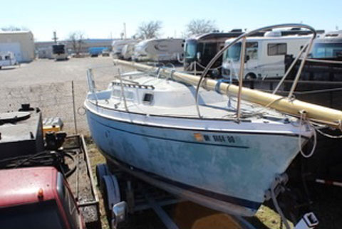 O Day 25 1976 Oklahoma City Ok Sailboat For Sale From