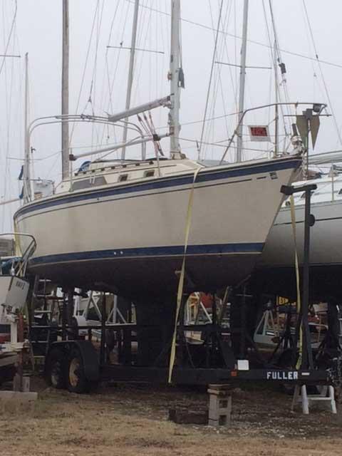O'day 28 1986, sailboat