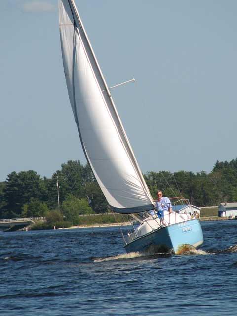 Paceship 23, 1976 sailboat