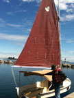 1990 Peep Hen 14 sailboat