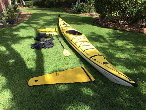 Perception Kayak, 17' Eclipse, 2004 sailboat