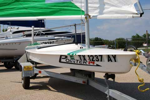 Pointer 14, 2008 sailboat