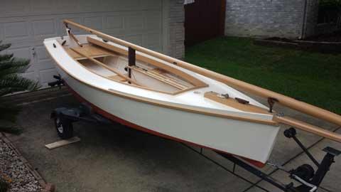 Pond Skiff, 2015, Cibolo, Texas sailboat