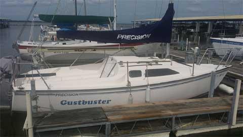 Precision 21, 1993 sailboat