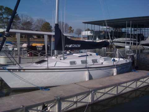 Precision 23, 2005, sailboat