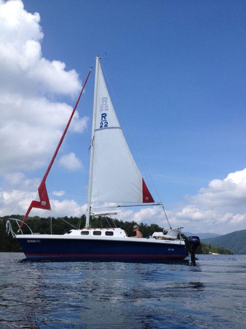 Rhodes 22, 1985 sailboat