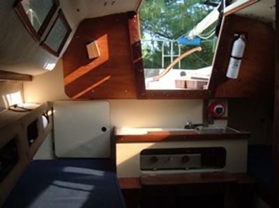 S2 7.3 (24 foot), 1984 sailboat
