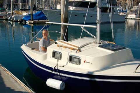 Sanibel 18, 2015 sailboat