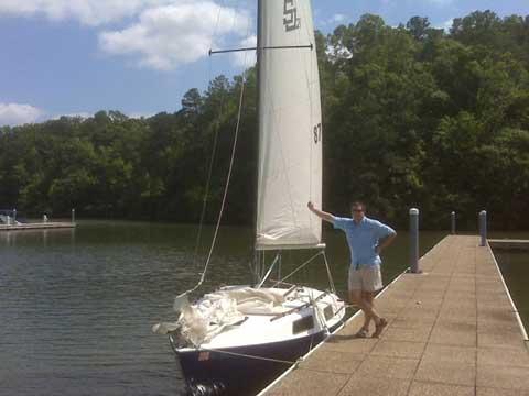 San Juan 21 MK II, 1975 sailboat