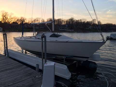 Santana 20, 1985 sailboat