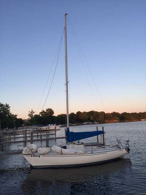 Santana 20, 1978 sailboat