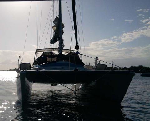 CSK/Schock catamaran, 1971 sailboat