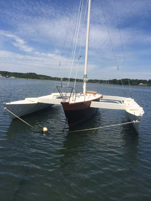 Sea Clipper 28' sailboat