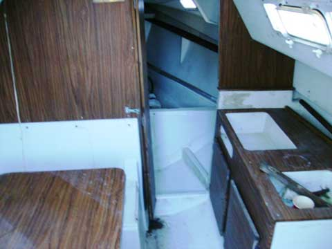 Seafarer 24, 1972 sailboat