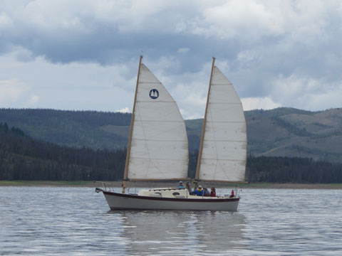 Sea Pearl 28, 1993 sailboat