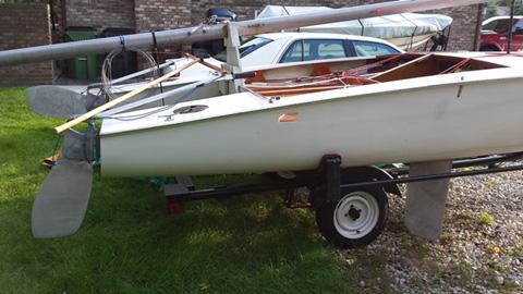 Shearwater catamaran 16 ft., 1963 sailboat