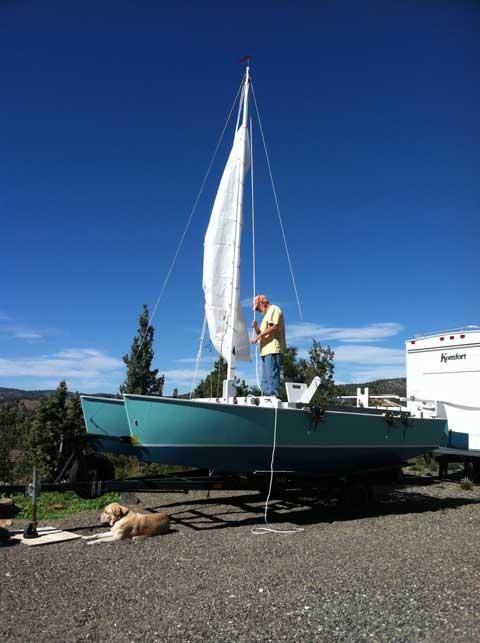 Slider Catamaran, 2014, 16 ft., sailboat