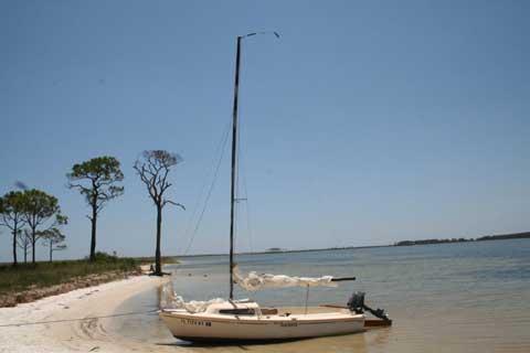 AMF Alcort, Sunbird, 16 ft, 1980 sailboat