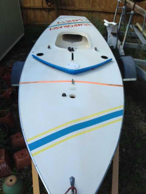Sunfish, 1985 sailboat