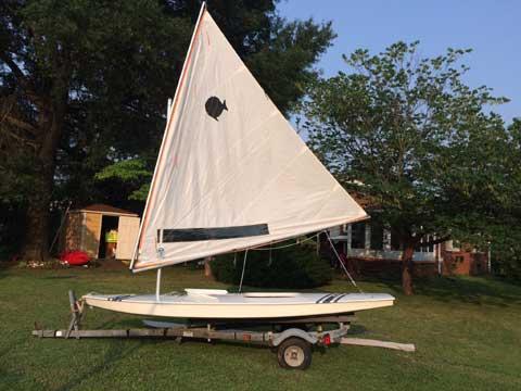 Sunfish Race, 1998 sailboat
