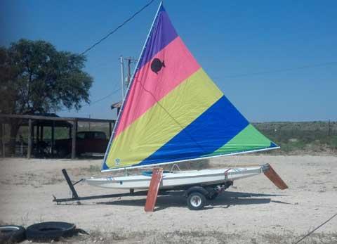 Sunfish, 1974 sailboat