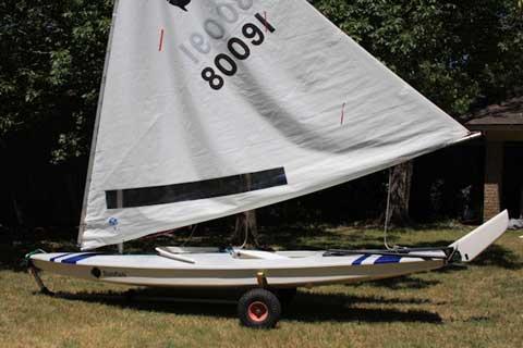 Sunfish Race, 13.9 Ft, 2009, sailboat