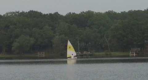 Sunflower 3.3 sailboat
