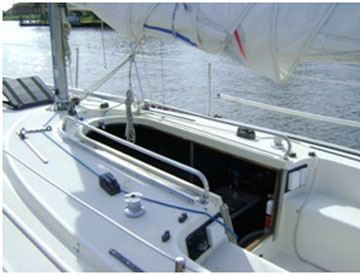 Tartan 10, 1979 sailboat
