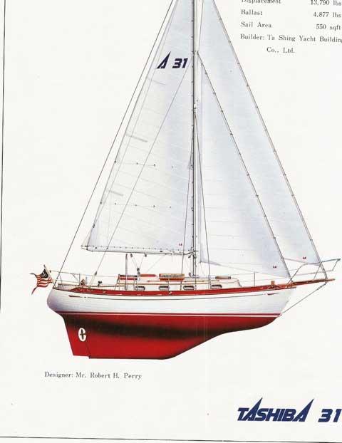 Tashiba 31, 1986 sailboat