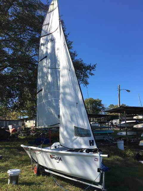 Topaz Omega, 15 ft., 2012 sailboat