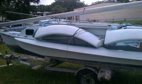Tremolino, TGull-23, 1992 sailboat
