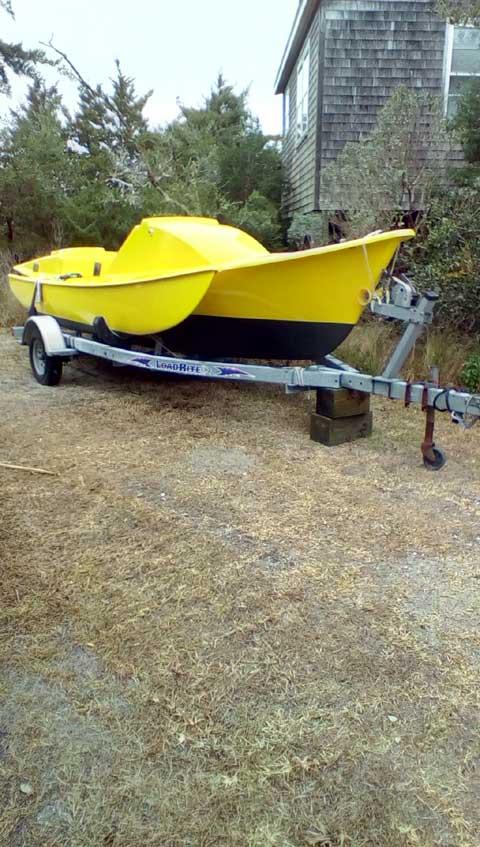 Tremolino Trimaran 23', 1977 sailboat