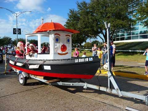 Tugboat, 14' sailboat