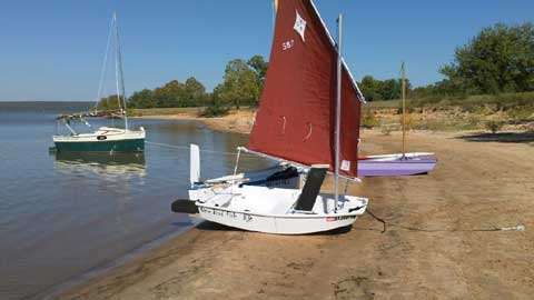 Two Paw 8 Nesting Dinghy, 2006 sailboat